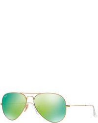 Ray-Ban Original Aviator Mirrored Sunglasses Rb3025 58