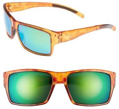 f9f7ec2f2b ... Smith Outlier Xl 56mm Polarized Sunglasses Honey Tortoise Polar Green  ...