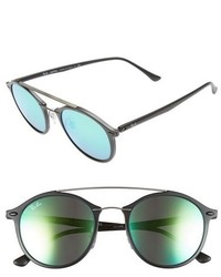 Mirrored Aviator Sunglasses Ray Ban