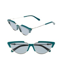 Karen Walker Tropics 58mm Cat Eye Sunglasses