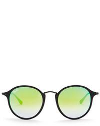 Ray-Ban Unisex Round Fleck Sunglasses