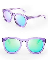 Wildfox Classic Fox Deluxe Mirror Sunglasses