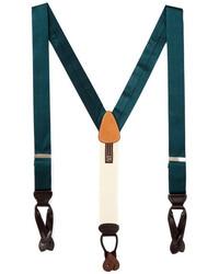 Trafalgar Houndstooth Silk Suspenders