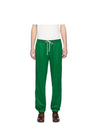 Gucci Green Technical Jersey Gg Lounge Pants
