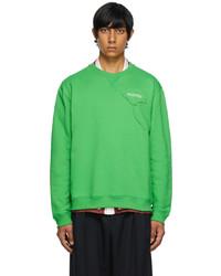 Valentino Green Garden Sweatshirt