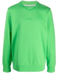 Calvin Klein Jeans Logo Trim Cotton Sweatshirt