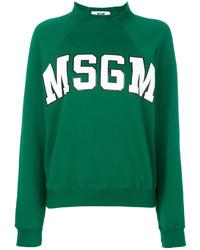 MSGM Raglan Logo Sweatshirt