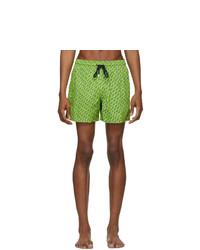 Vilebrequin Green St Barth Moorise Swim Shorts