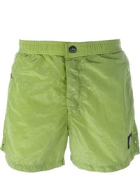 Stone Island Logo Patch Swim Shorts