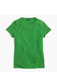J.Crew Italian Cashmere Short Sleeve T Shirt