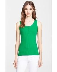 Burberry Brit Rib Knit Cotton Tank