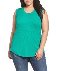 Melissa McCarthy Plus Size Seven7 Ribbed Tank