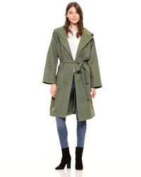 Gap Hooded Midi Trench