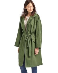 Hooded midi trench medium 3638332