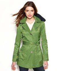 Laundry by Design Hooded Trench Coat