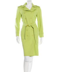 Moschino Long Trench Coat