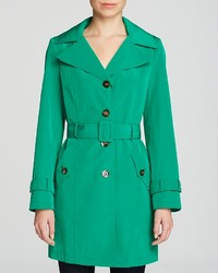 Calvin Klein Single Breasted Trench Coat