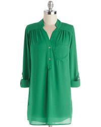 Jantex international limited pam breeze ly tunic in green medium 92948