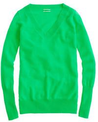 Italian cashmere v neck sweater medium 522004