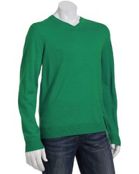 Apt. 9 Modern Fit Merino Solid V Neck Sweater