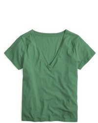 J.Crew J Crew Supima Cotton V Neck Tee