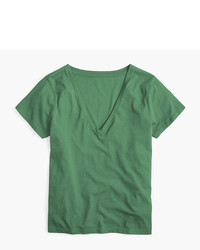 J.Crew Supersoft Supima V Neck T Shirt