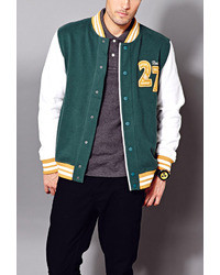 Forever 21 21 East Coast Varsity Jacket