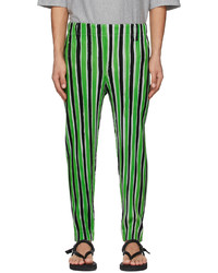 Homme Plissé Issey Miyake Green Tailored Line Trousers