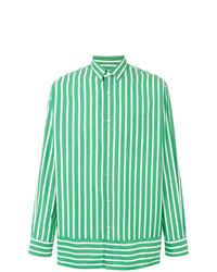 AMI Alexandre Mattiussi Summer Fit Striped Shirt