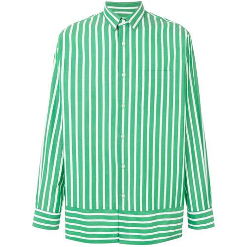 d195e20bbdb9 ... AMI Alexandre Mattiussi Summer Fit Striped Shirt ...