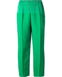 Green wide leg pants original 4512006