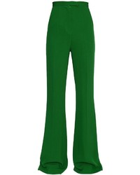 Crepe cady flared pants medium 5023559
