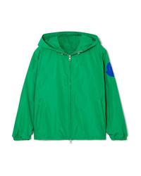 Moncler Hooded Appliqud Shell Jacket