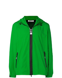 MSGM Hooded Zip Up Jacket