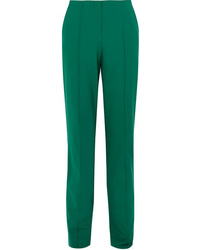 Diane von Furstenberg Wool Blend Straight Leg Pants
