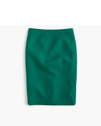 J.Crew No 2 Pencil Skirt In Double Serge Wool