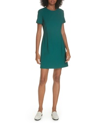 Theory Stretch Wool A Line Dress