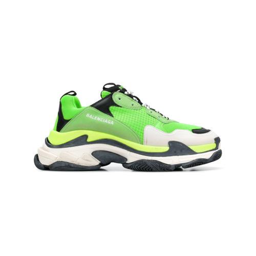 Balenciaga Fluorescent Green Triple S