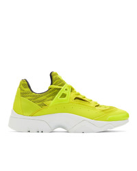 Kenzo Yellow Sonic Sneakers