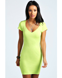 Boohoo Amelia Sweetheart Bodycon Dress