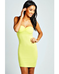 Boohoo Mel Bandeau Bodycon Dress