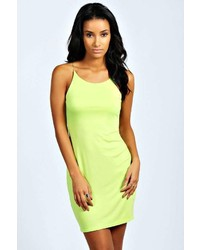 Boohoo Sarah Spaghetti Strap Bodycon Dress