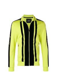 Green-Yellow Bomber Jacket