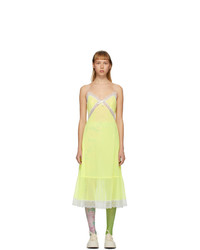 Marc Jacobs Yellow The Maxi Slip Dress