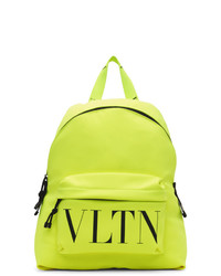 Valentino Yellow Garavani Vltn Backpack