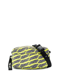 Green-Yellow Canvas Fanny Pack