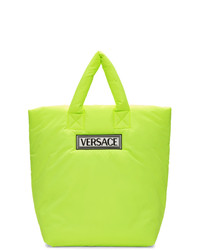 Green-Yellow Canvas Tote Bag
