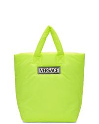Versace Yellow Logo Tote