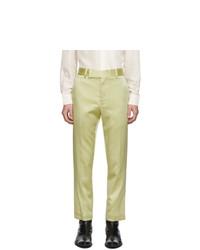 Haider Ackermann Yellow Classic Trousers