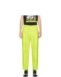 Nomenklatura Studio Yellow Pleated Trousers
